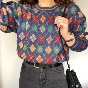 VINTAGE • men's grandpa sweater